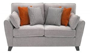 Cantrell 2 Seater Silver