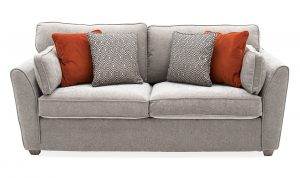 Cantrell Sofa Bed Silver