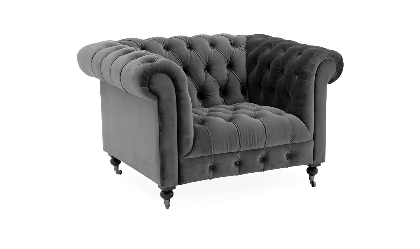 Darby 1 Seater Grey