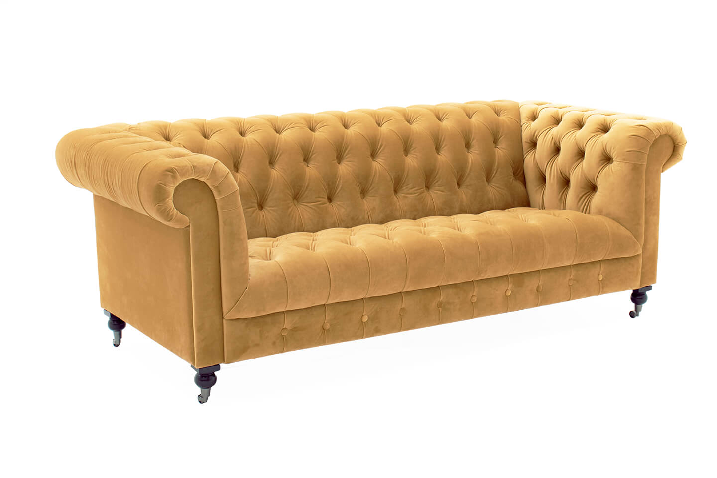 Darby 3 Seater Mustard
