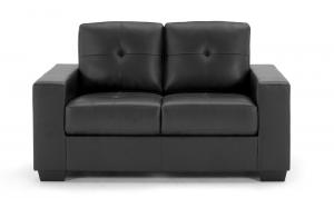Gemona-2-Seater-Fixed-Black-Front
