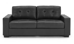 Gemona-3-Seater-Fixed-Black-Front