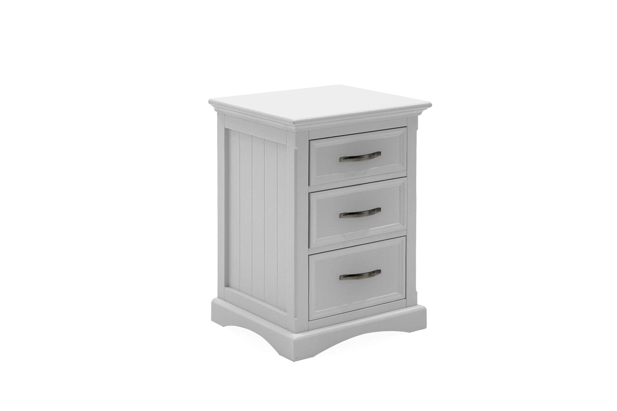 Harlow Bedside Table White