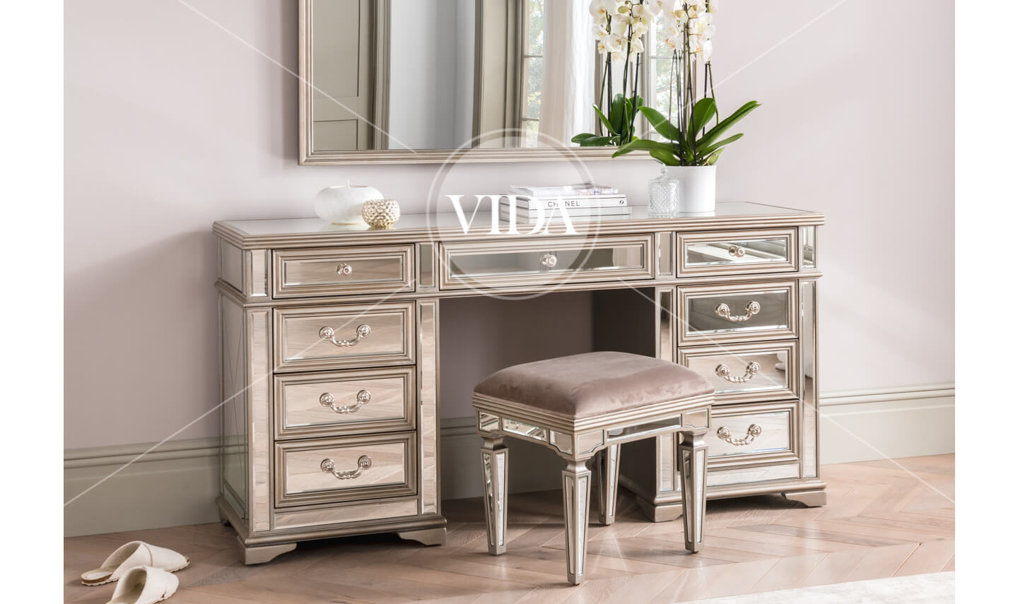 Jessica Dressing Table Stool