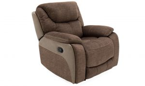 Santiago 1 Seater Recliner Brown