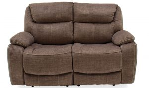 Santiago 2 Seater Recliner Brown