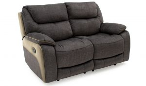 Santiago 2 Seater Recliner Grey