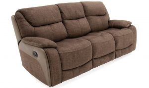 Santiago 3 Seater Recliner Brown