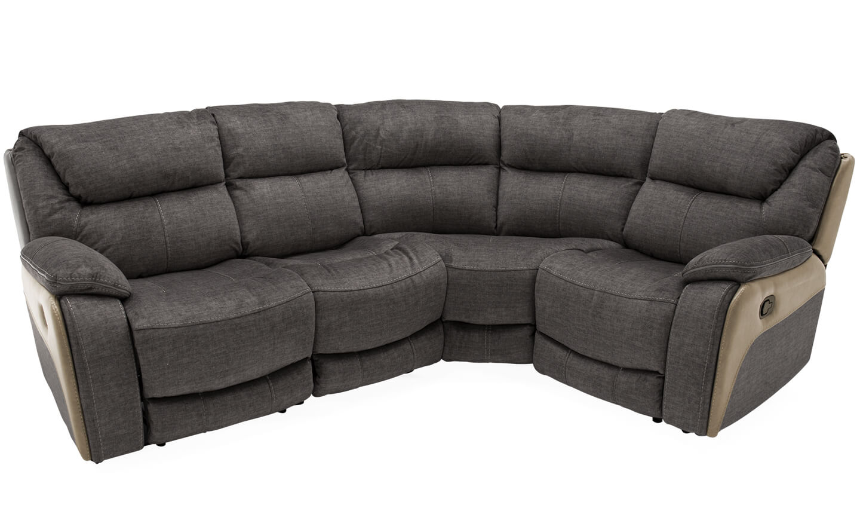 Santiago Corner Recliner Sofa Grey