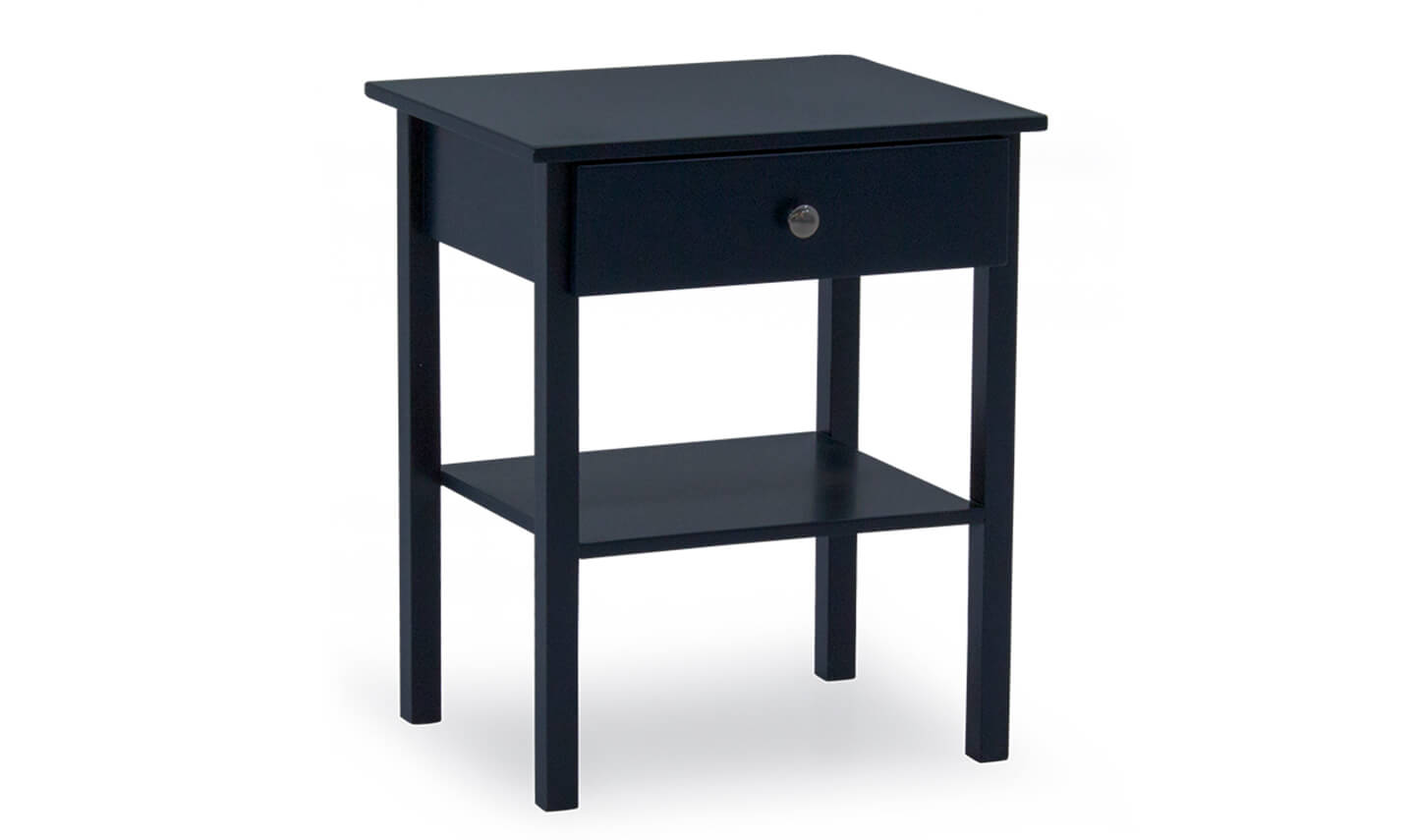 Willow Bedside Table Blue