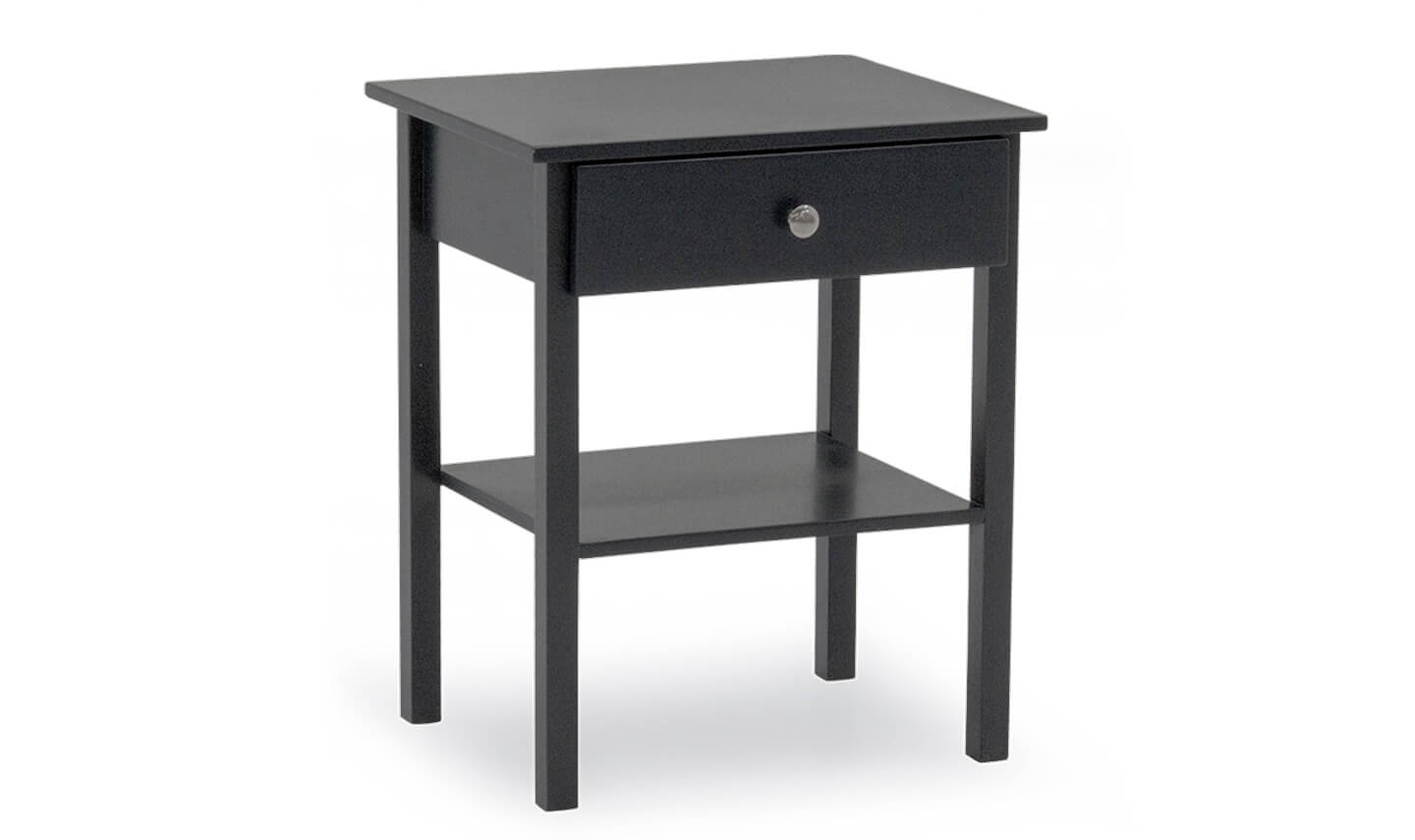Willow Bedside Table Grey