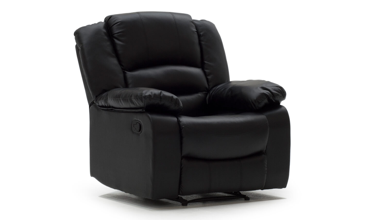Barletto 1 Seater Recliner Black