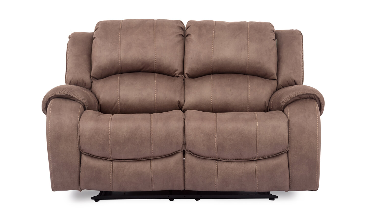 Darwin 2 Seater Recliner Biscuit