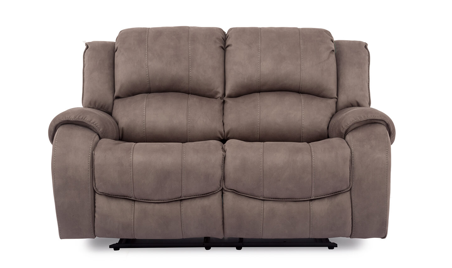 Darwin 2 Seater Recliner Smoke