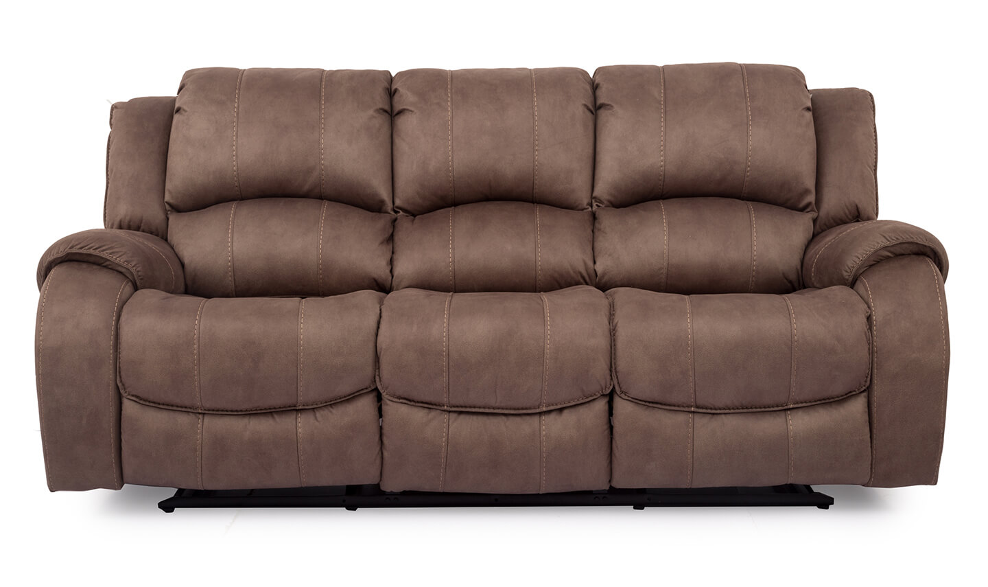 Darwin 3 Seater Recliner Biscuit