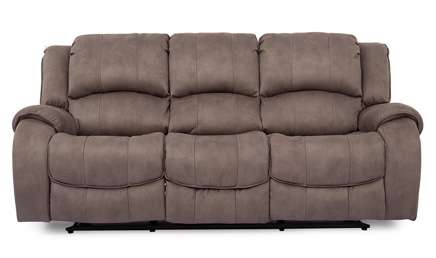 Darwin 3 Seater Recliner Smoke