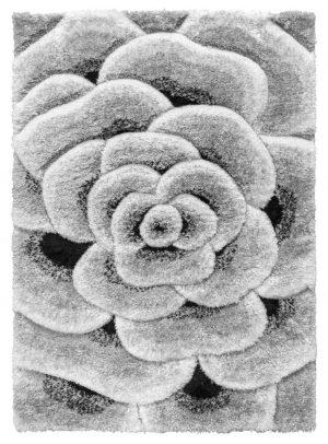 Luxus Flower Grey