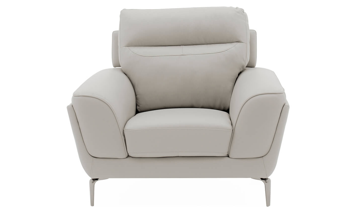 Vitalia 1 Seater Light Grey