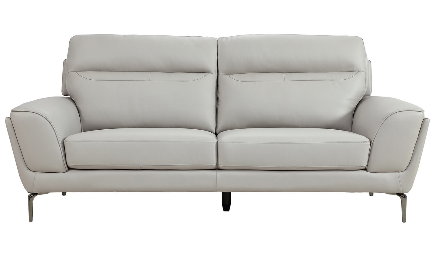 Vitalia 3 Seater Light Grey
