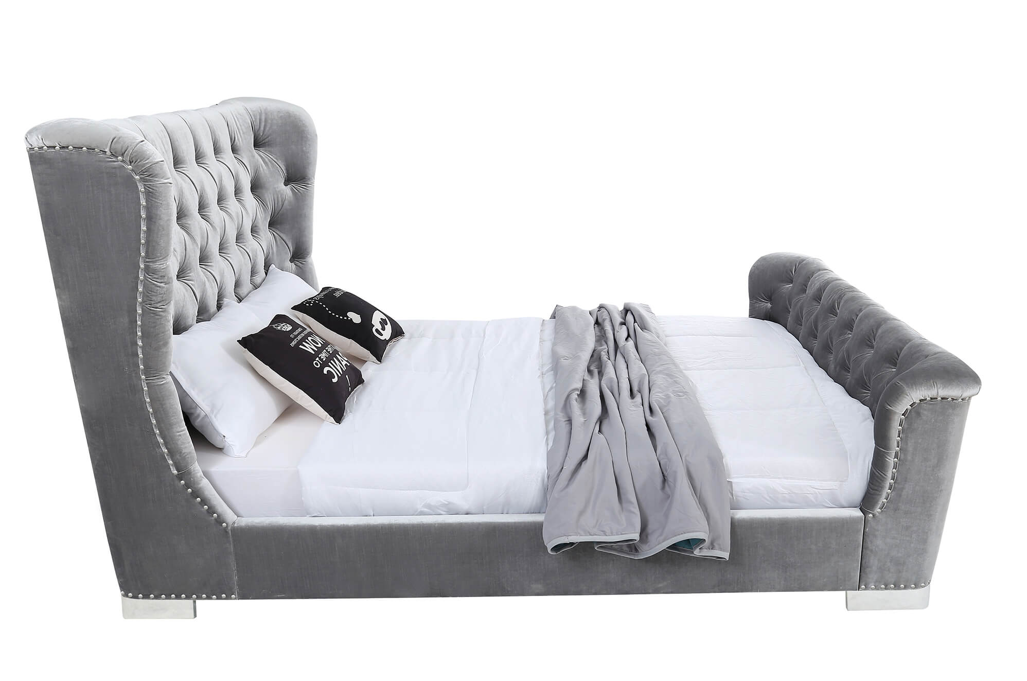 Belvedere 6' Bed Pewter