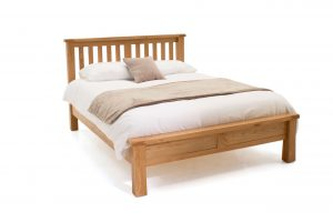 Breeze 6' Bed Low Footboard