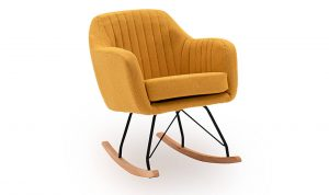Katell Rocking Chair Mustard
