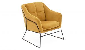 Klaus Accent Chair Mustard
