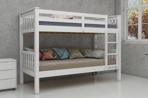 Magnus 3' Bunk Bed White