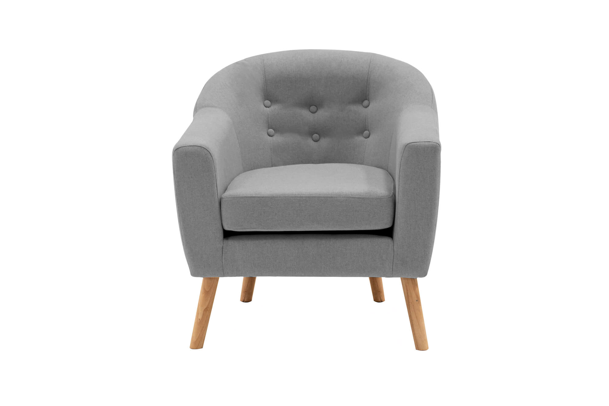 Perig Accent Chair Light Grey