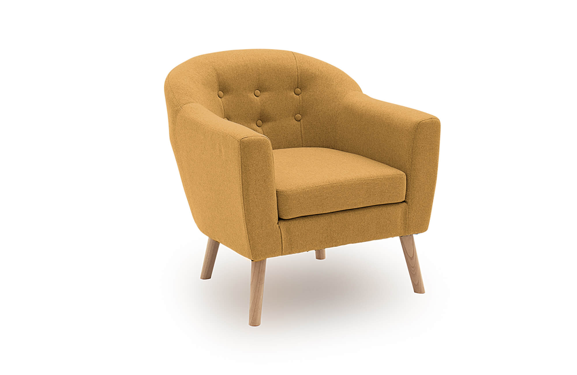 Perig Accent Chair Mustard