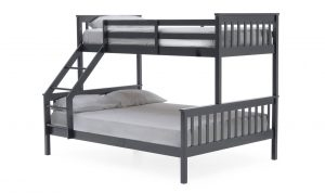 Salix Bunk Bed 3' & 4'6 Grey