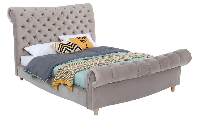 Sloane 4'6 Bed Subtle Mink