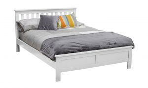 Willow 4'6 Bed White