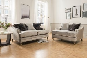 Belvedere 2 Seater Pewter