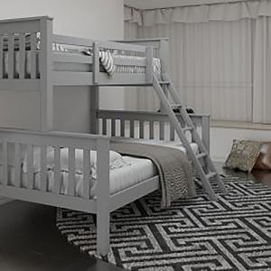 Shaker Grey Triple Bunk