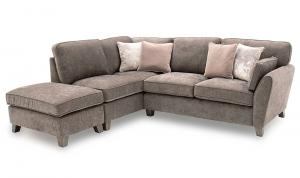 Cantrell Left Hand Facing Corner Sofa Mushroom