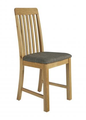 Bath Vertical Slatted Dining Chair
