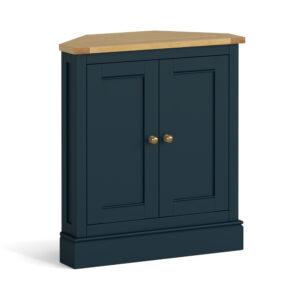Chichester Ivory Corner Cupboard