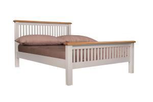 Victor 4'6 Slatted Bed