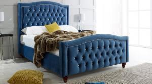 Bella Fabric 6' Storage Bed