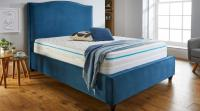 Classic Fabric 4'6 Storage Bed