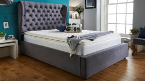 Olivia 4'6 Storage Bed
