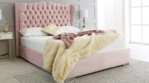 Rosie 4'6 Storage Bed