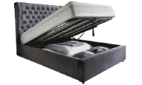 Lexi 4'6 Storage Bed