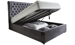 Maya 4'6 Storage Bed