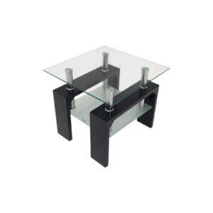 Tivoli Black Lamp Table