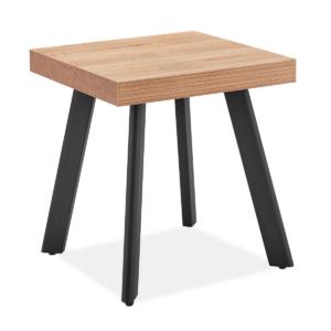 Fredrik Oak Lamp Table