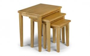 Cleo Oak Nest of Tables