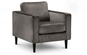 Hayward Velvet Arm Chair