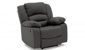 Barletto 1 Seater Recliner Grey